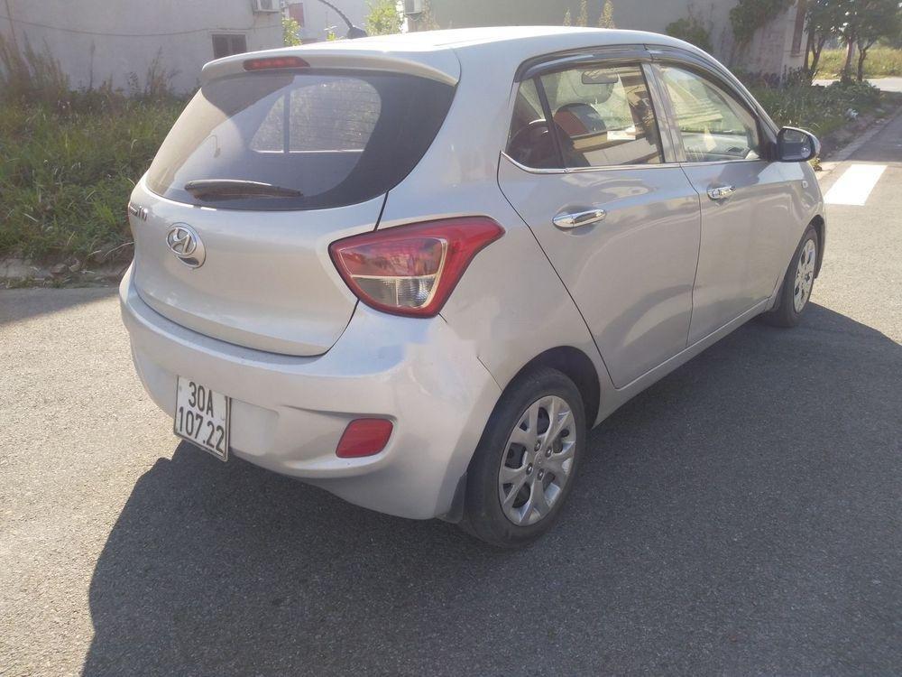 Bán Hyundai Grand i10 năm 2014, màu bạc, xe nhập, giá tốt (1)