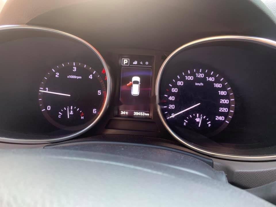 Bán Hyundai Santa Fe 4X4 AT đời 2016, màu bạc (4)