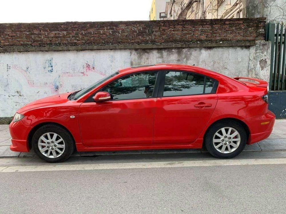 Bán xe Mazda 3 AT sản xuất 2009, màu đỏ, xe nhập (1)