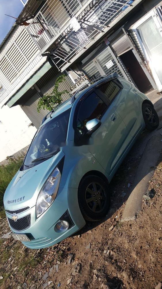 Bán Chevrolet Spark sản xuất năm 2011, màu xanh lam, chính chủ  (3)