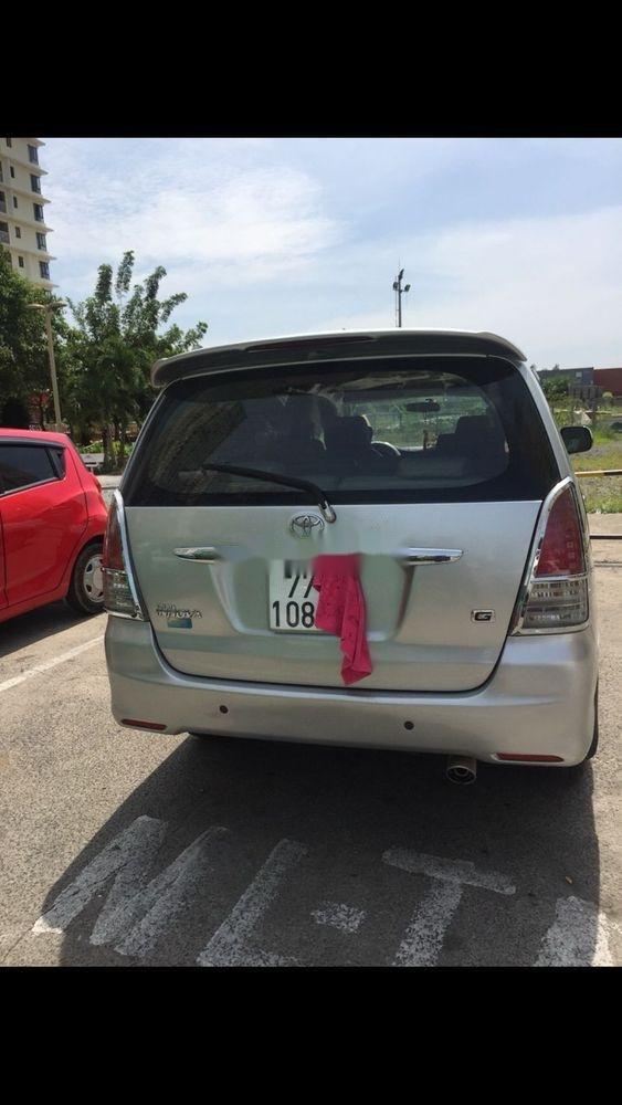 Cần bán Toyota Innova sản xuất 2011, màu bạc, nhập khẩu nguyên chiếc   (2)