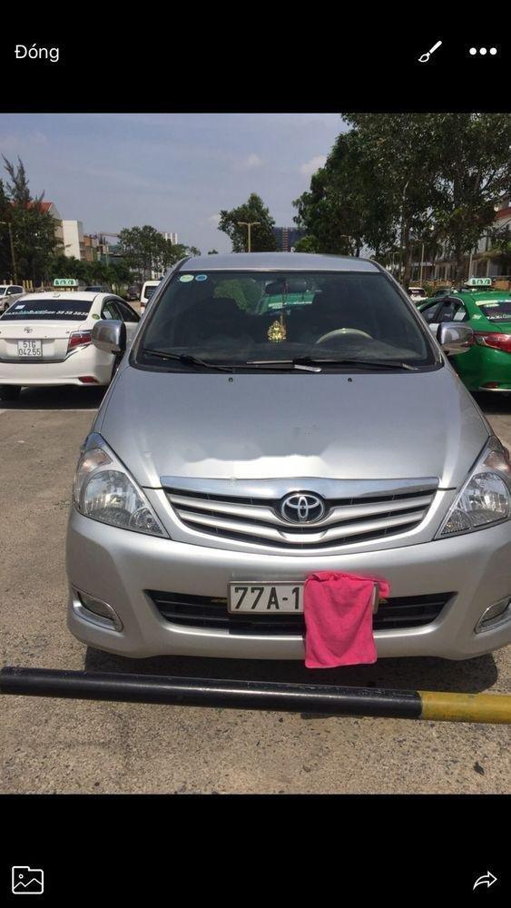 Cần bán Toyota Innova sản xuất 2011, màu bạc, nhập khẩu nguyên chiếc   (1)