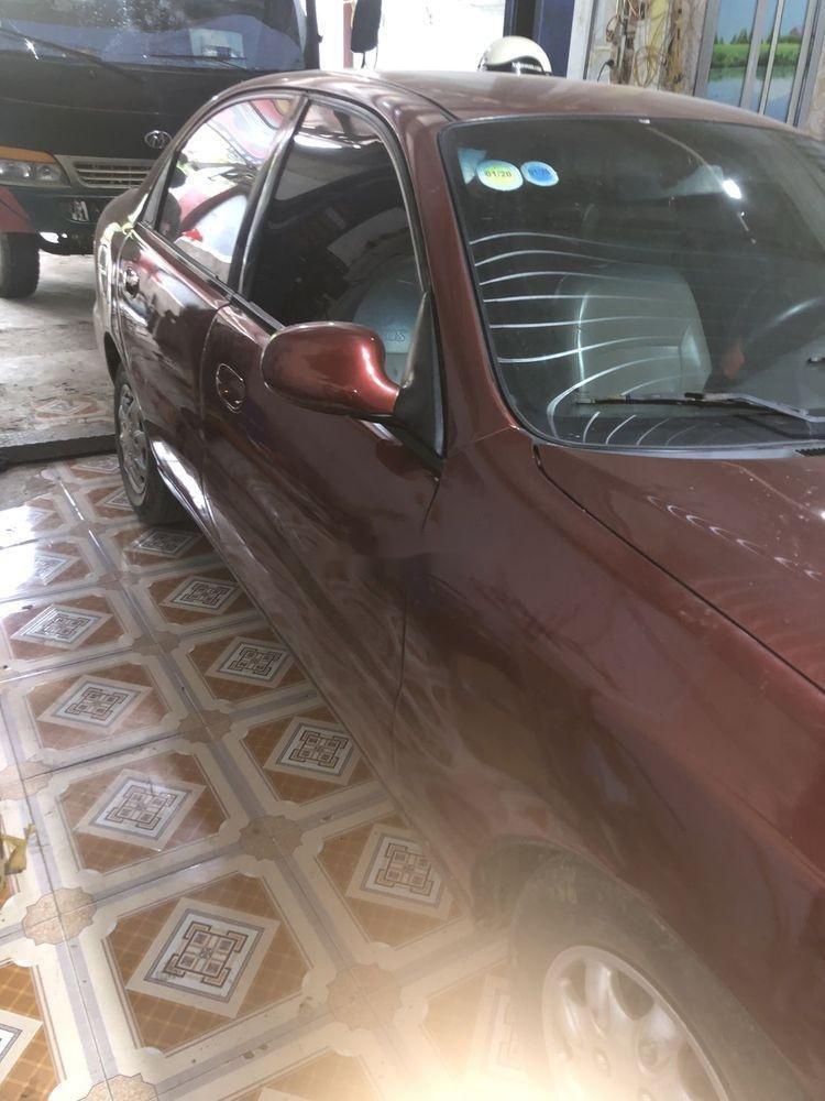 Cần bán xe Daewoo Lanos đời 2001, màu đỏ, nhập khẩu nguyên chiếc (2)