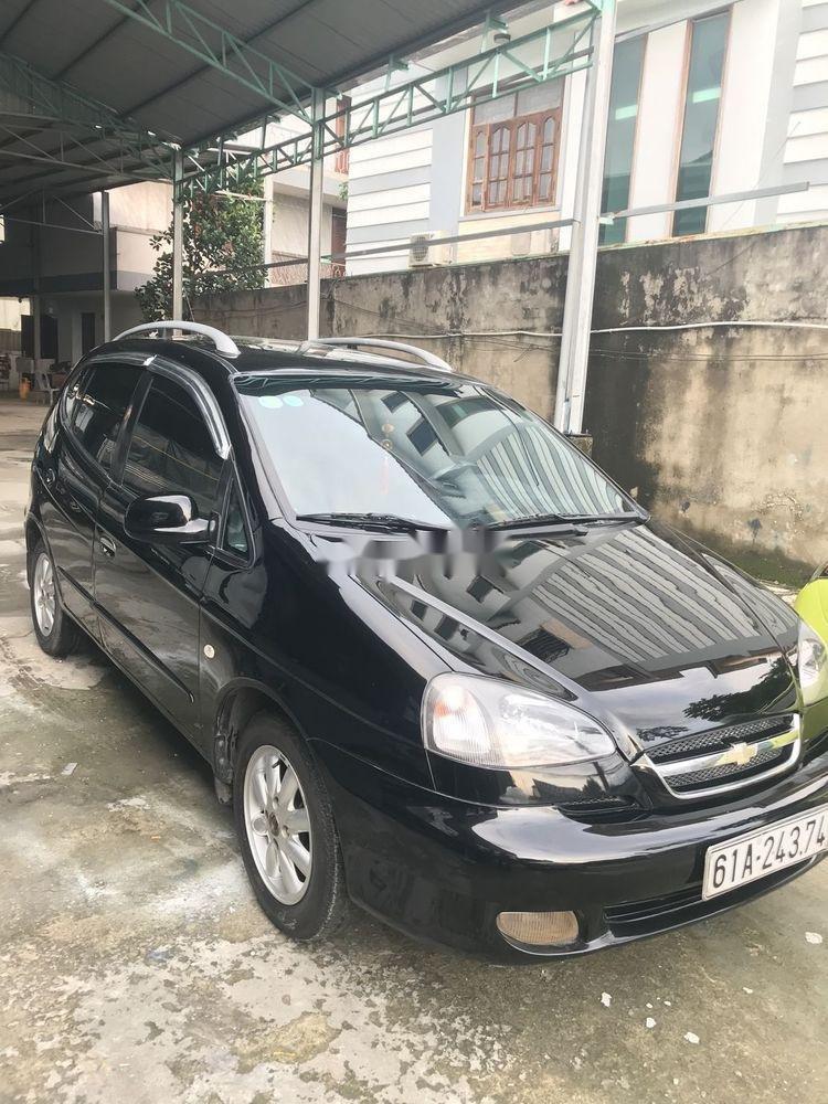 Bán Chevrolet Vivant 2008, màu đen số tự động (2)