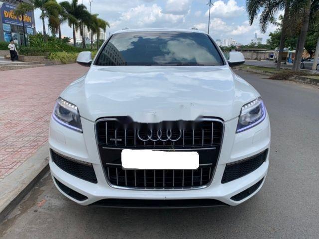 Cần bán lại xe Audi Q7 đời 2011, màu trắng, nhập khẩu nguyên chiếc chính chủ, giá tốt (1)