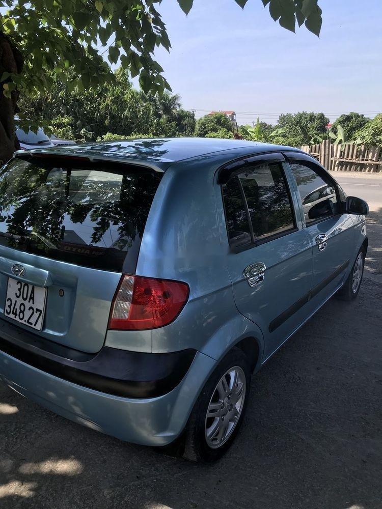 Cần bán Hyundai Getz đời 2009, màu xanh lam, nhập khẩu  (4)