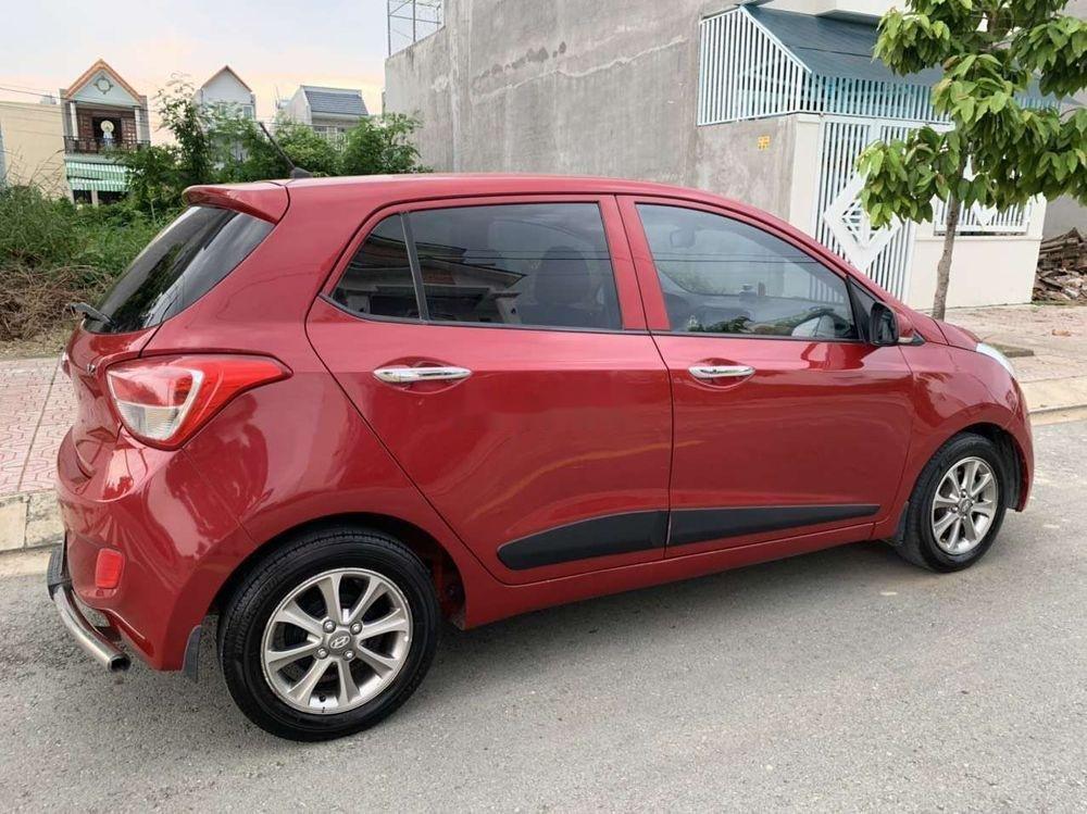 Cần bán Hyundai Grand i10 1.2 đời 2016, màu đỏ, xe nhập xe gia đình (5)