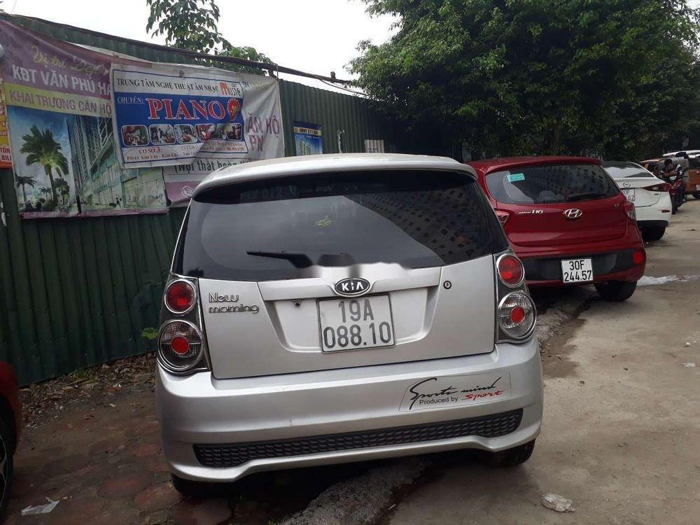 Bán xe Kia Morning sản xuất 2009, màu bạc, nhập khẩu nguyên chiếc (1)