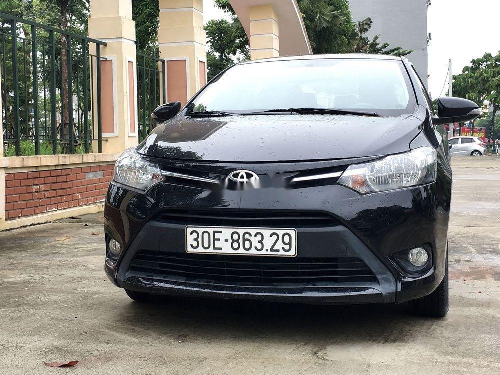 Cần bán gấp Toyota Vios E 2017, màu đen, giá tốt (1)