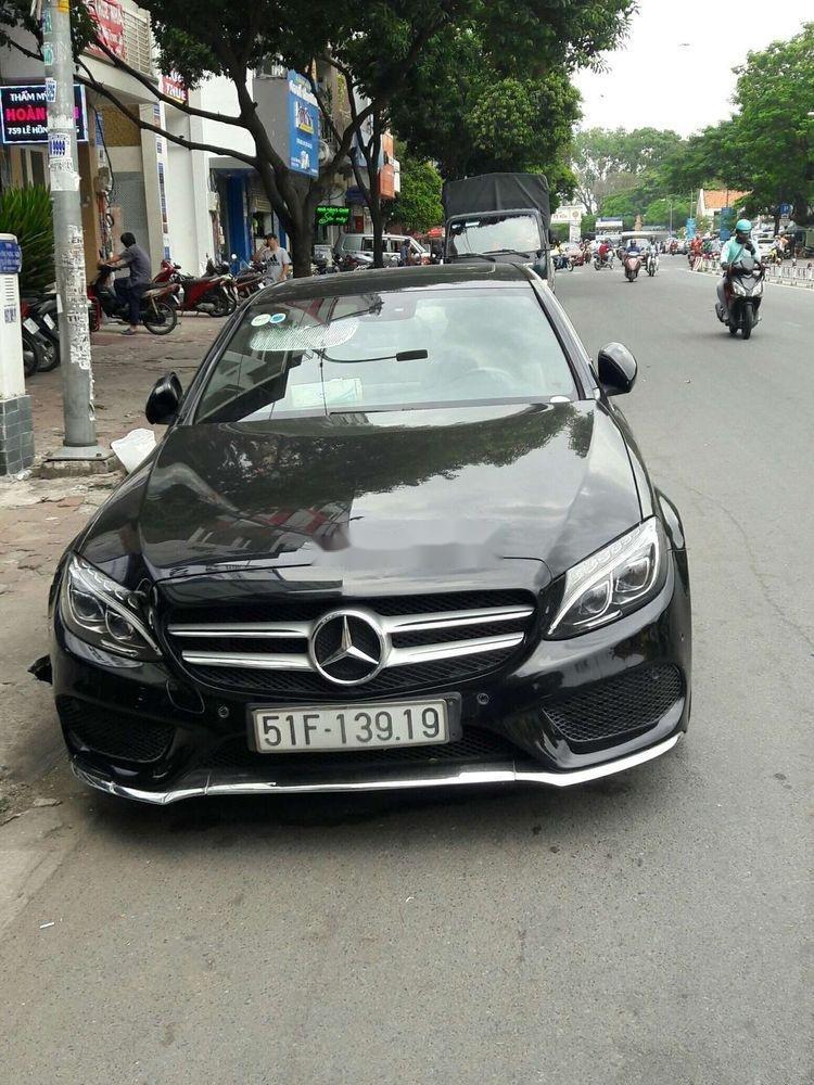 Cần bán Mercedes C250 sản xuất năm 2017, màu đen, nhập khẩu   (4)