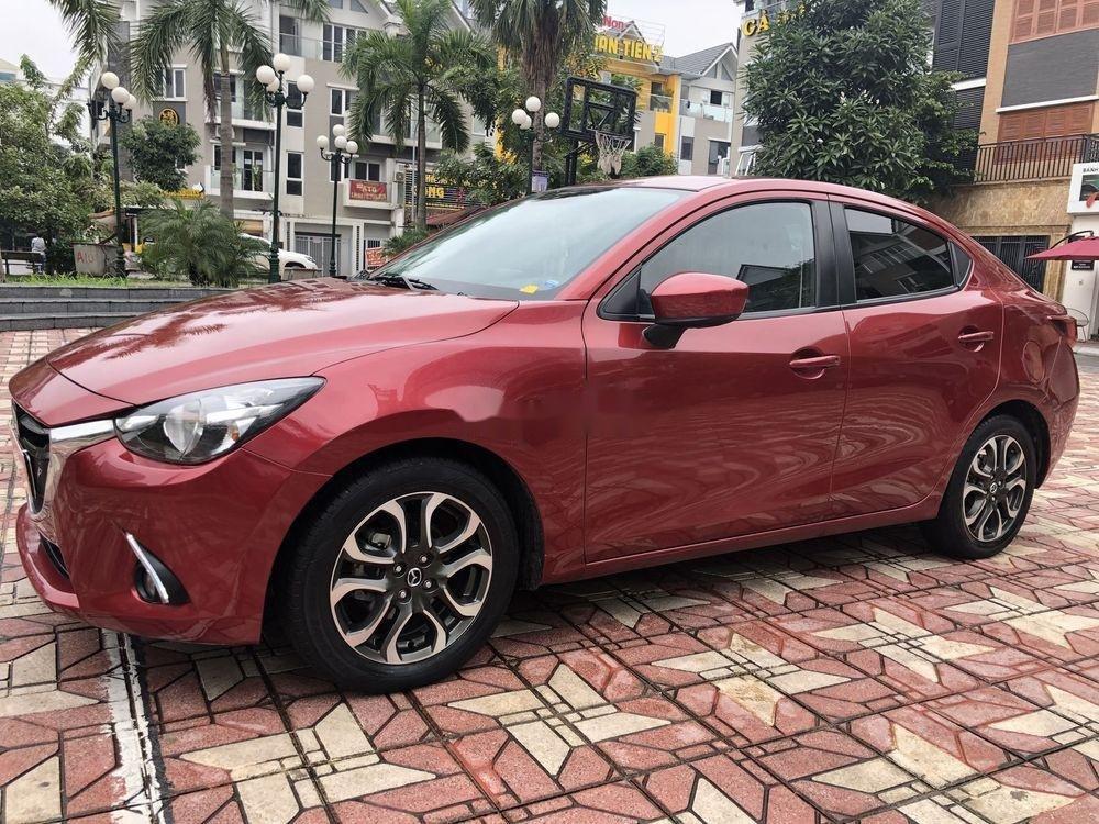 Bán ô tô Mazda 2 AT đời 2015, màu đỏ (4)