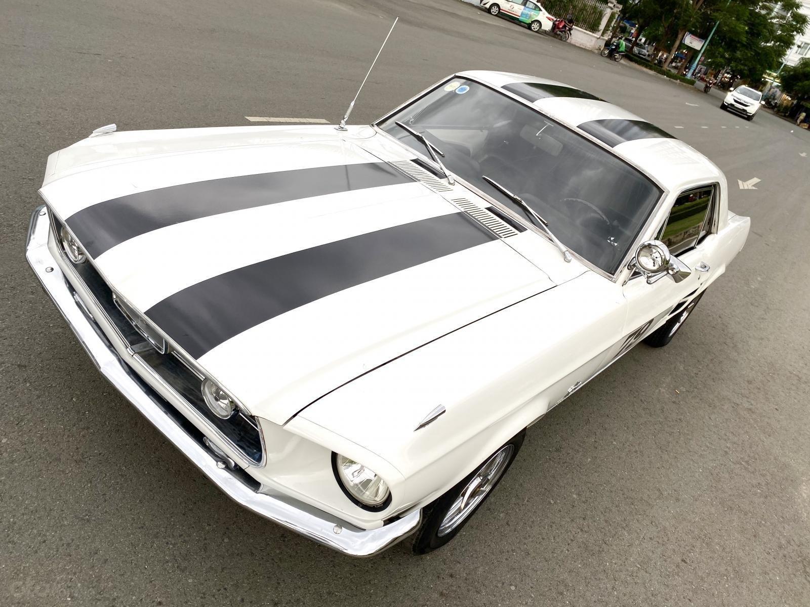 Ford Mustang 1965 nhập Mỹ, số tự động, xe trùm mền đồ xi và bánh căm còn zin (9)