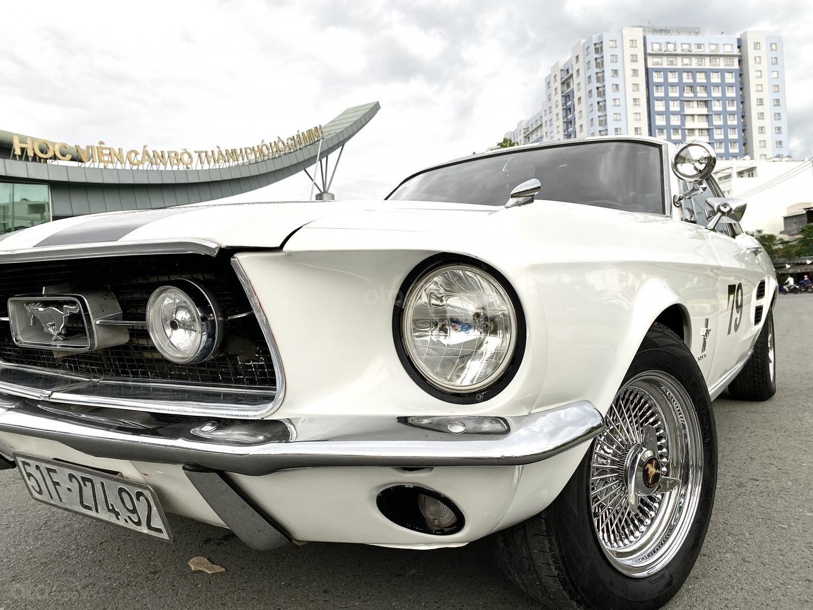 Ford Mustang 1965 nhập Mỹ, số tự động, xe trùm mền đồ xi và bánh căm còn zin (13)