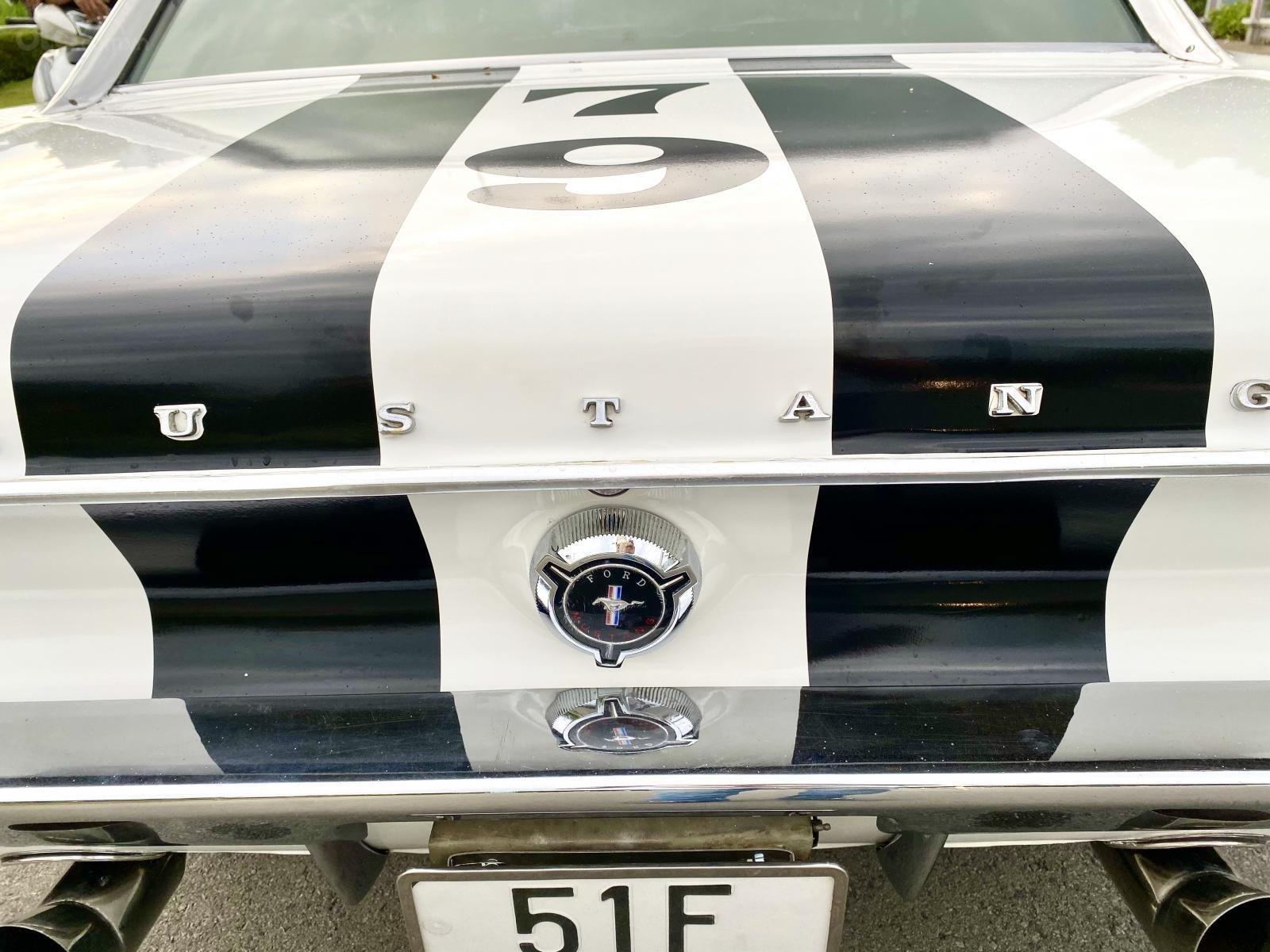 Ford Mustang 1965 nhập Mỹ, số tự động, xe trùm mền đồ xi và bánh căm còn zin (14)