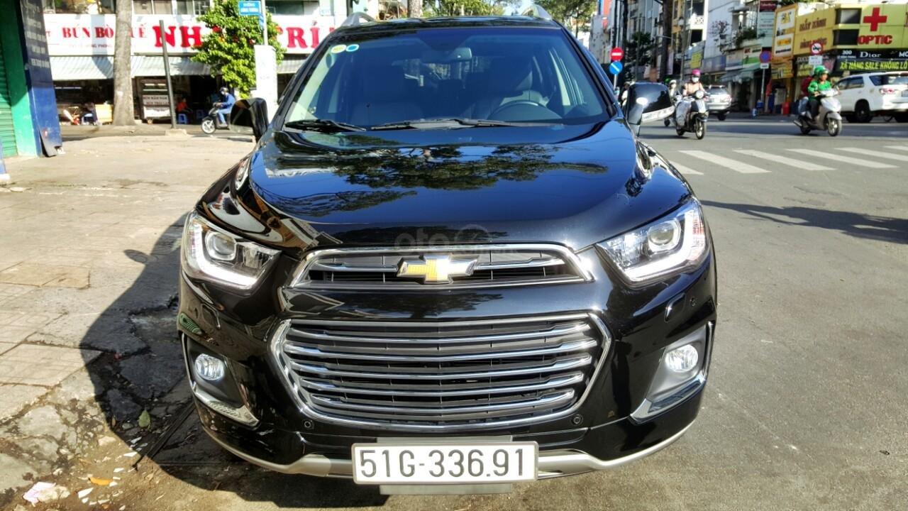 Bán ô tô Chevrolet Captiva LTZ đời 2017, màu đen, liên hệ chính chủ 0913992465 Thanh (1)