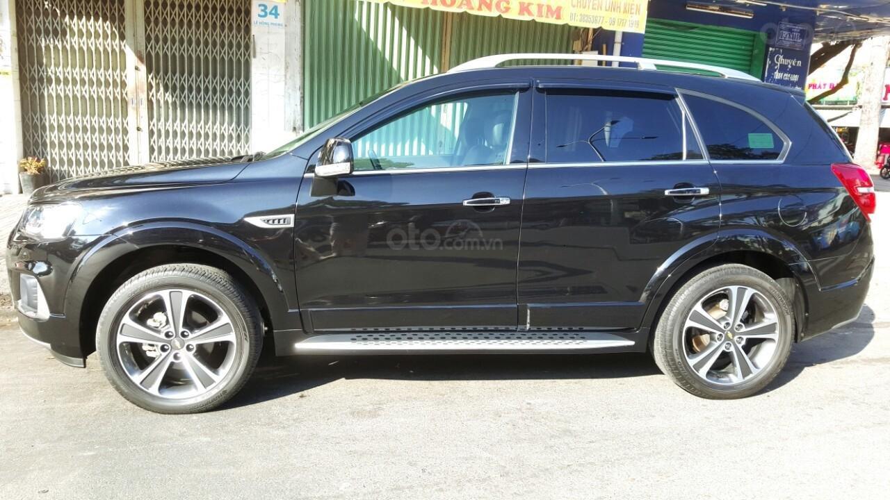 Bán ô tô Chevrolet Captiva LTZ đời 2017, màu đen, liên hệ chính chủ 0913992465 Thanh (3)