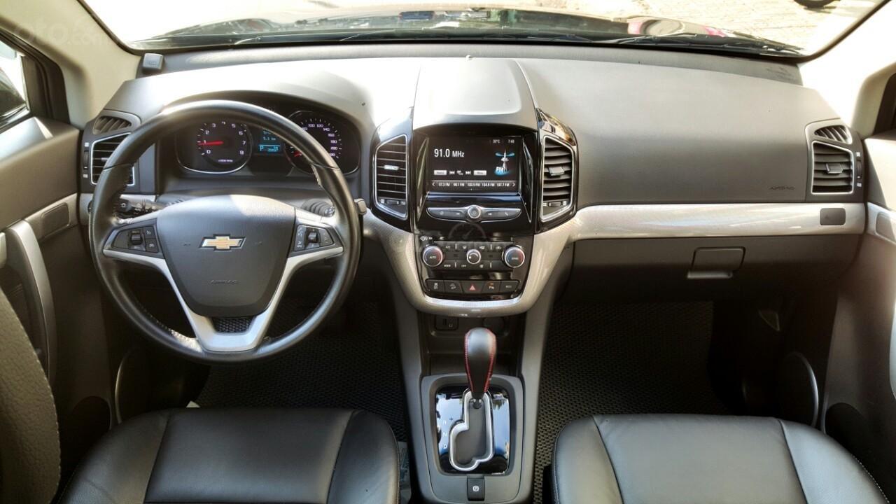 Bán ô tô Chevrolet Captiva LTZ đời 2017, màu đen, liên hệ chính chủ 0913992465 Thanh (8)