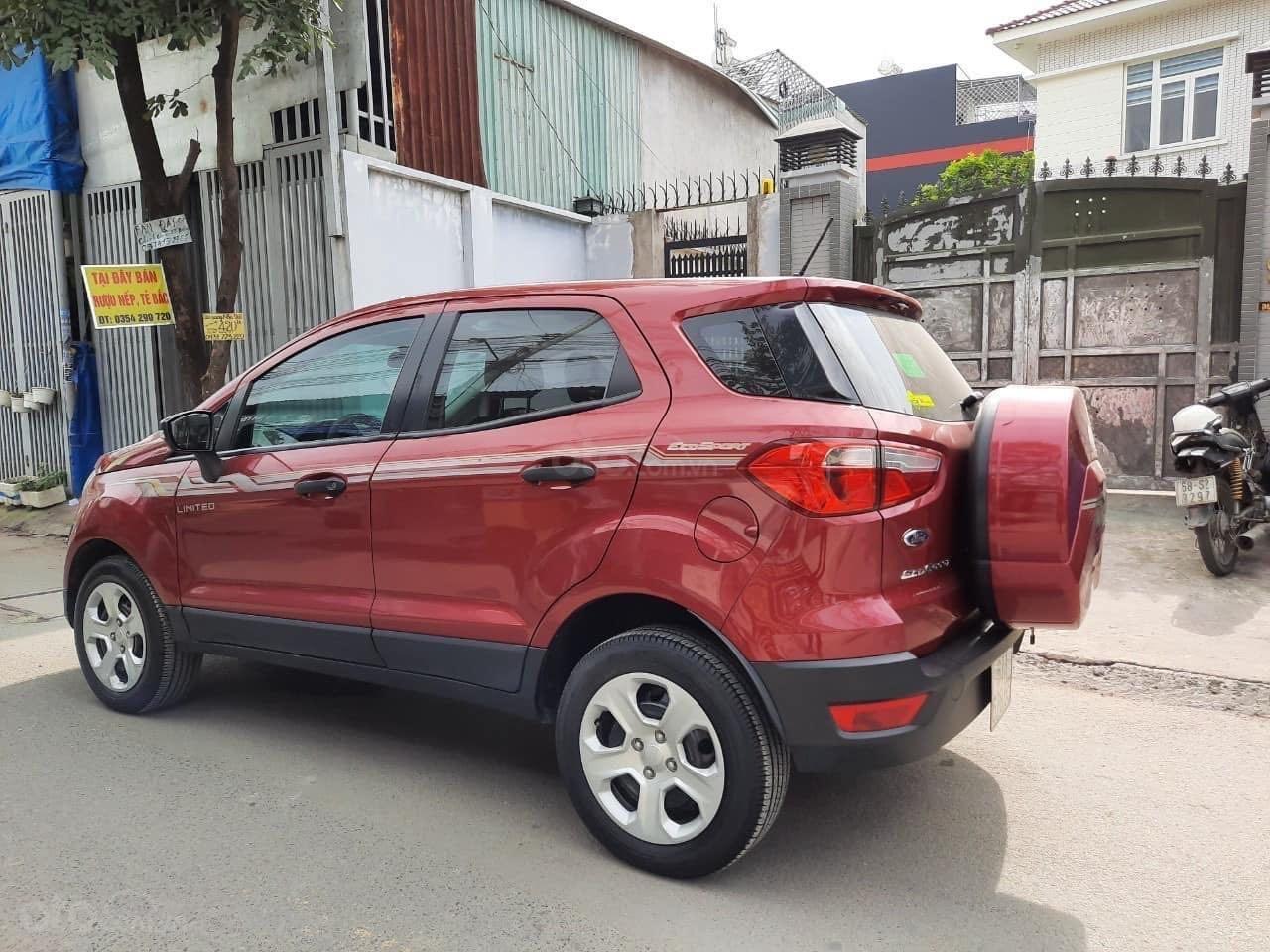Cần bán Ford EcoSport đăng ký 2018, màu đỏ ít sử dụng, giá tốt 520 triệu đồng (2)