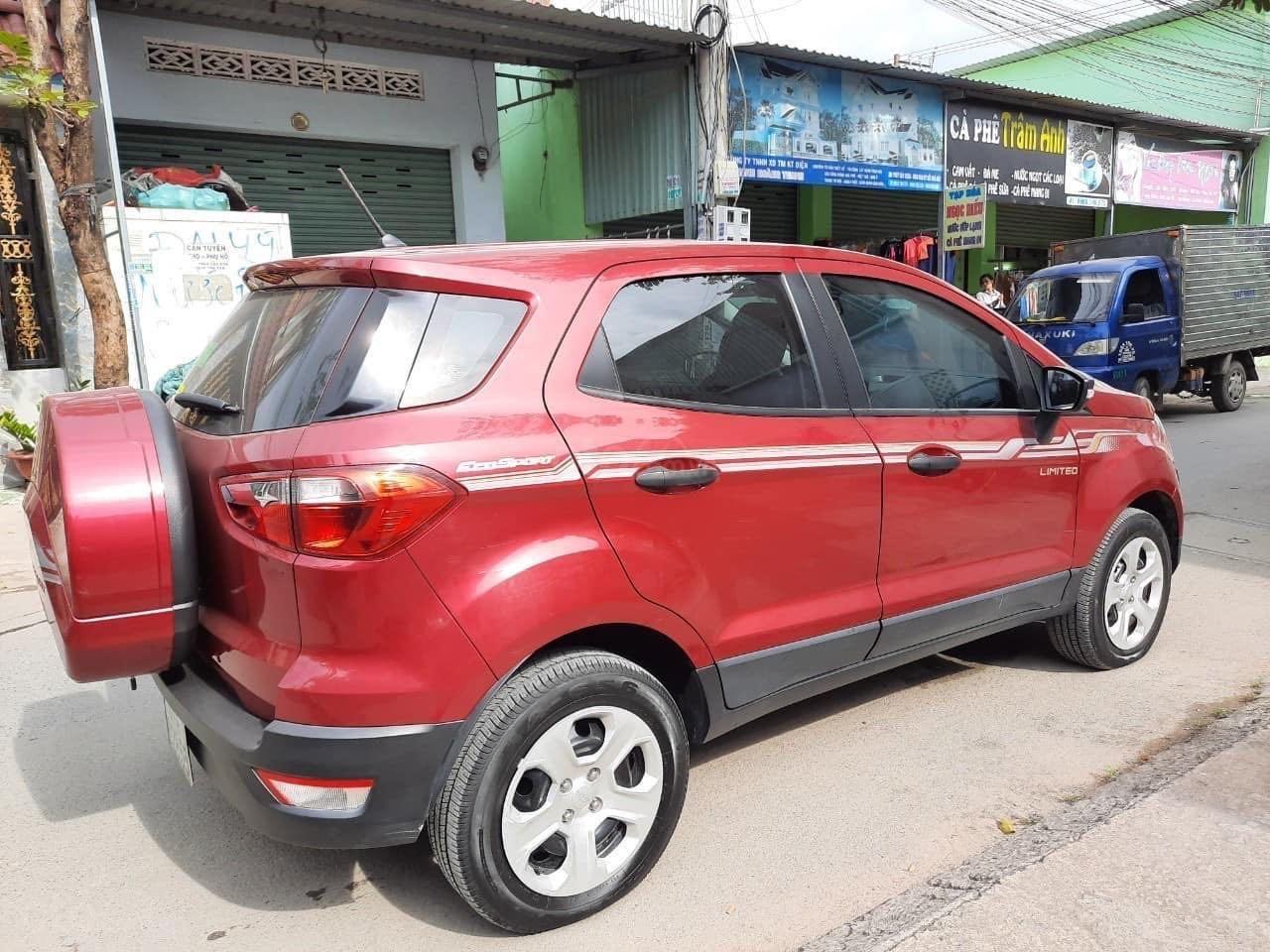 Cần bán Ford EcoSport đăng ký 2018, màu đỏ ít sử dụng, giá tốt 520 triệu đồng (1)