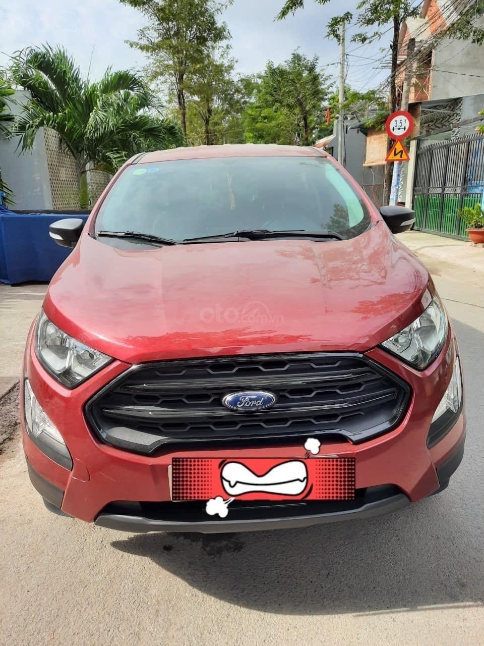 Cần bán Ford EcoSport đăng ký 2018, màu đỏ ít sử dụng, giá tốt 520 triệu đồng (3)
