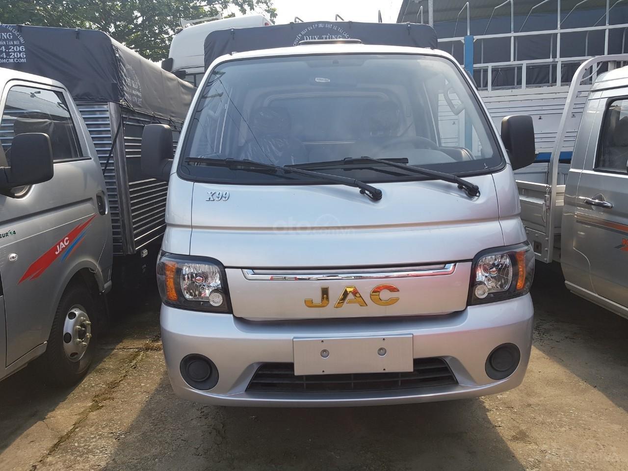 Cần bán JAC X99 2019 Euro 4, màu bạc, giá tốt, thùng dài 3m2 (1)