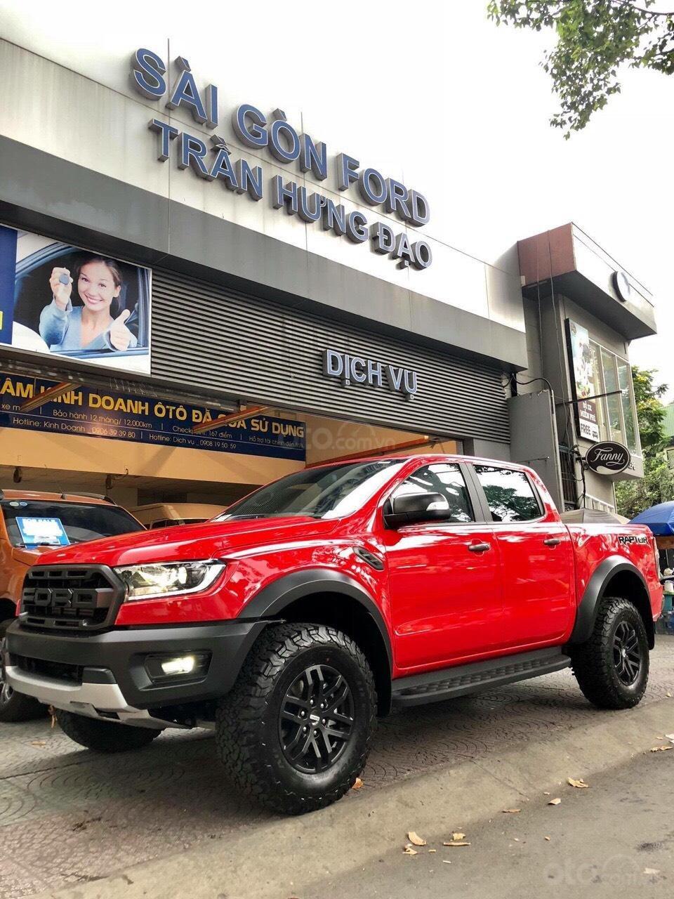 Hòa Bình Ford Ranger Raptor đời 2019, màu đỏ, nhập khẩu nguyên chiếc, LH 0974286009 (2)