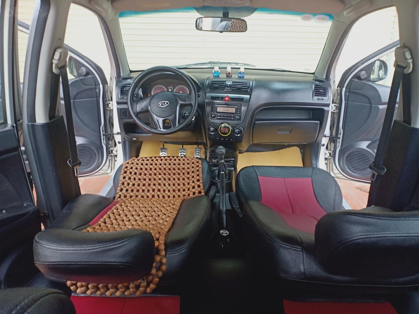 Cần bán Kia Morning đăng ký 2011, màu bạc chính chủ giá 185 triệu đồng (3)