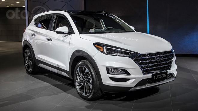 Hyundai Tucson - đời 2020 - Màu trắng , giá 912 triệu - Tặng gói phụ kiện 22 triệu Hyundai BRVT- Phòng KD 0934.806.800 (3)