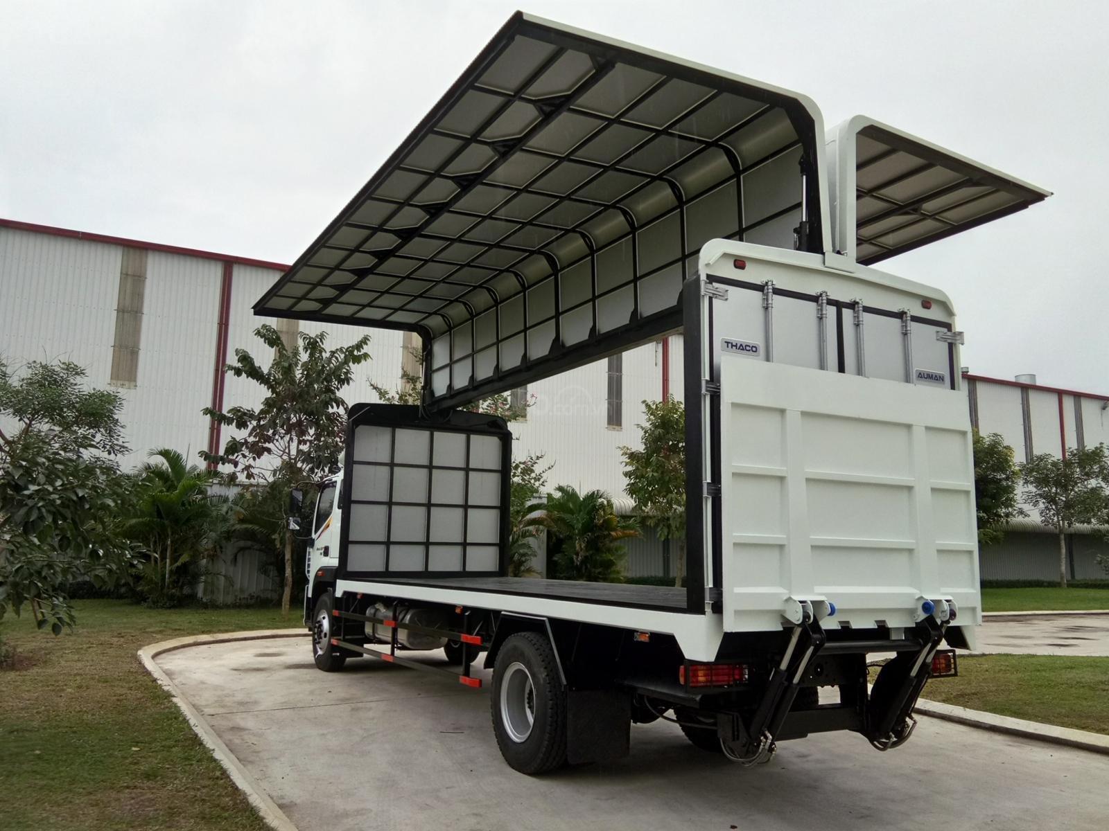 Bán xe tải Auman C160 E4 9 tấn, thùng dài full mới 2019 (2)