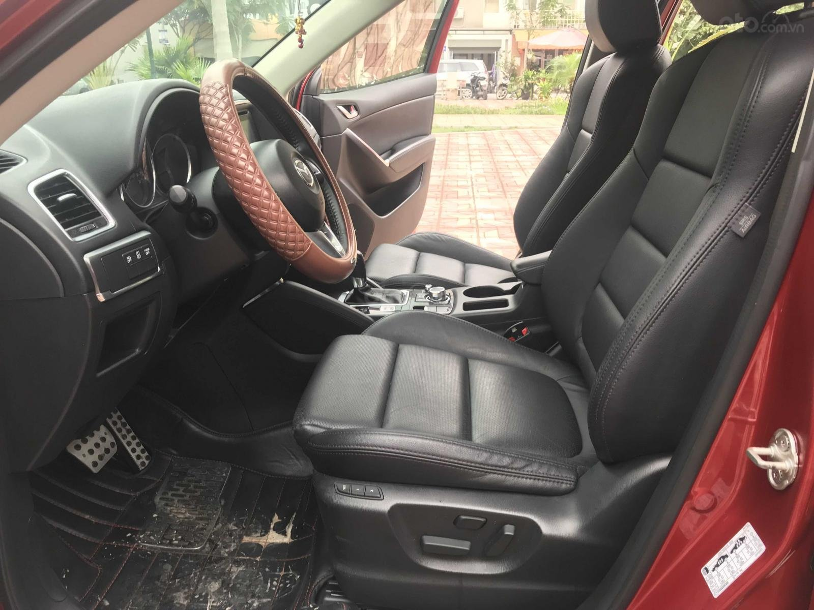 Bán Mazda CX 5 đăng ký lần đầu 2016, màu đỏ còn mới, giá 770 triệu đồng (7)