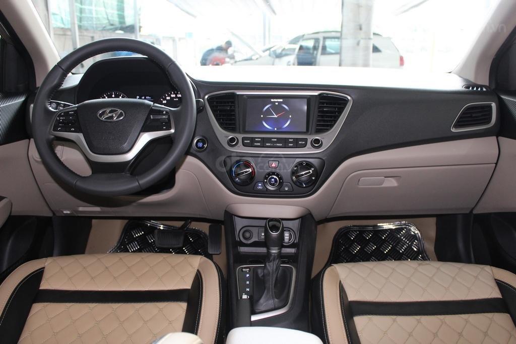 Hyundai Accent TC 1.4AT 2018, trả góp 70%, xe bao test, có bảo hành (8)