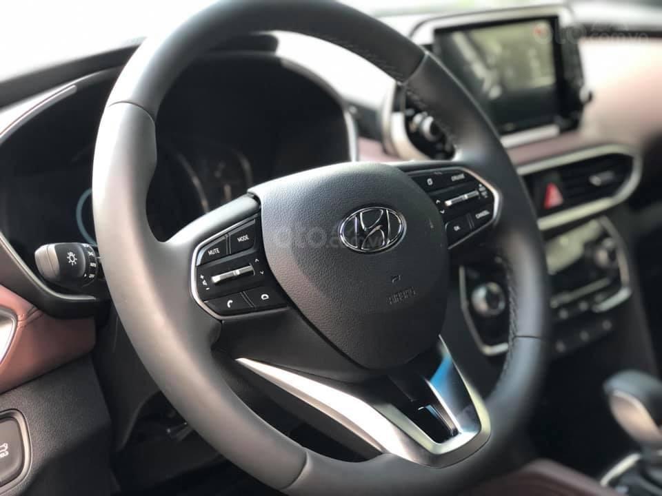 Bán Hyundai Santa Fe đời 2019, màu đen, nhập khẩu nguyên chiếc (7)