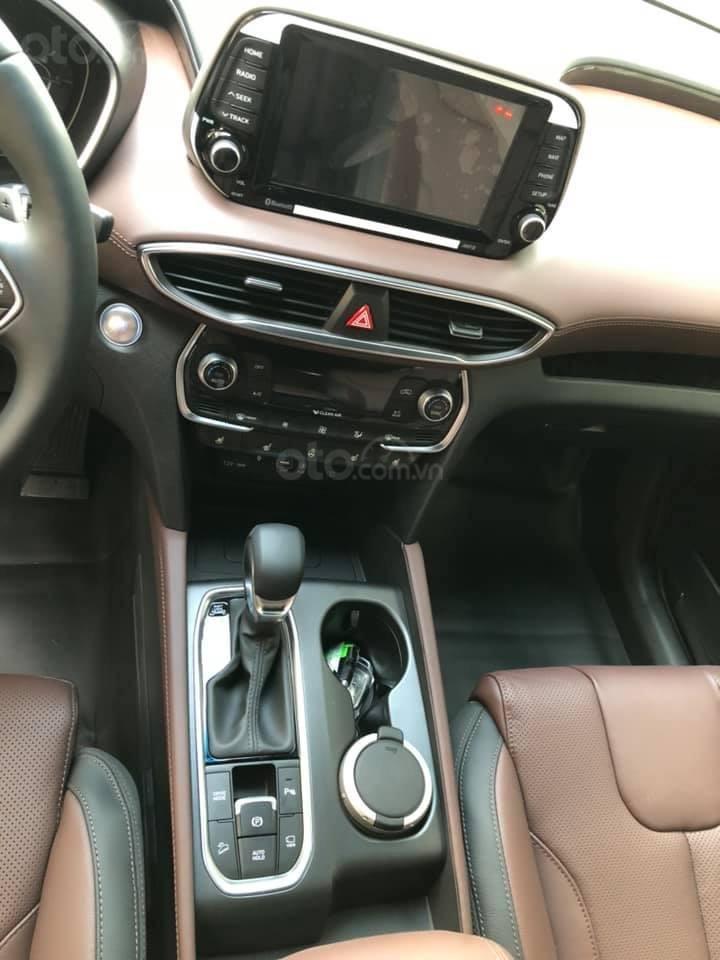 Bán Hyundai Santa Fe đời 2019, màu đen, nhập khẩu nguyên chiếc (5)