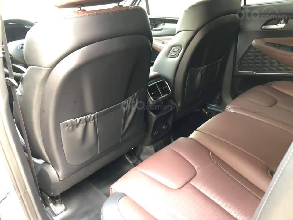 Bán Hyundai Santa Fe đời 2019, màu đen, nhập khẩu nguyên chiếc (10)