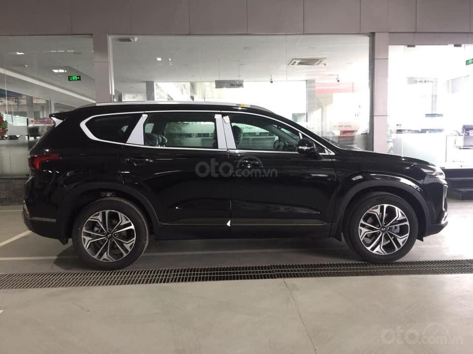 Bán Hyundai Santa Fe đời 2019, màu đen, nhập khẩu nguyên chiếc (11)