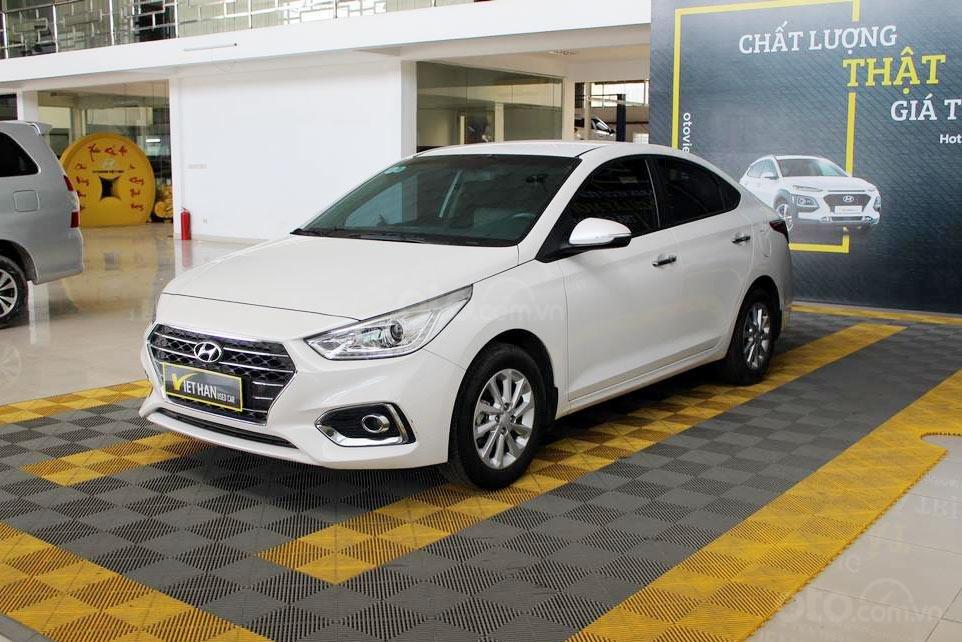 Hyundai Accent 1.4MT 2018, trả góp 70%, xe bao test, có bảo hành (1)