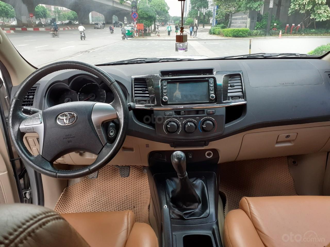 Bán Toyota Fortuner 2.5G sản xuất 2016, màu bạc (5)