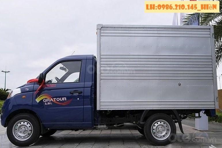 Cần bán xe Thaco 820kg đời 2019, màu xanh lam, nhập khẩu nguyên chiếc, giá tốt (3)