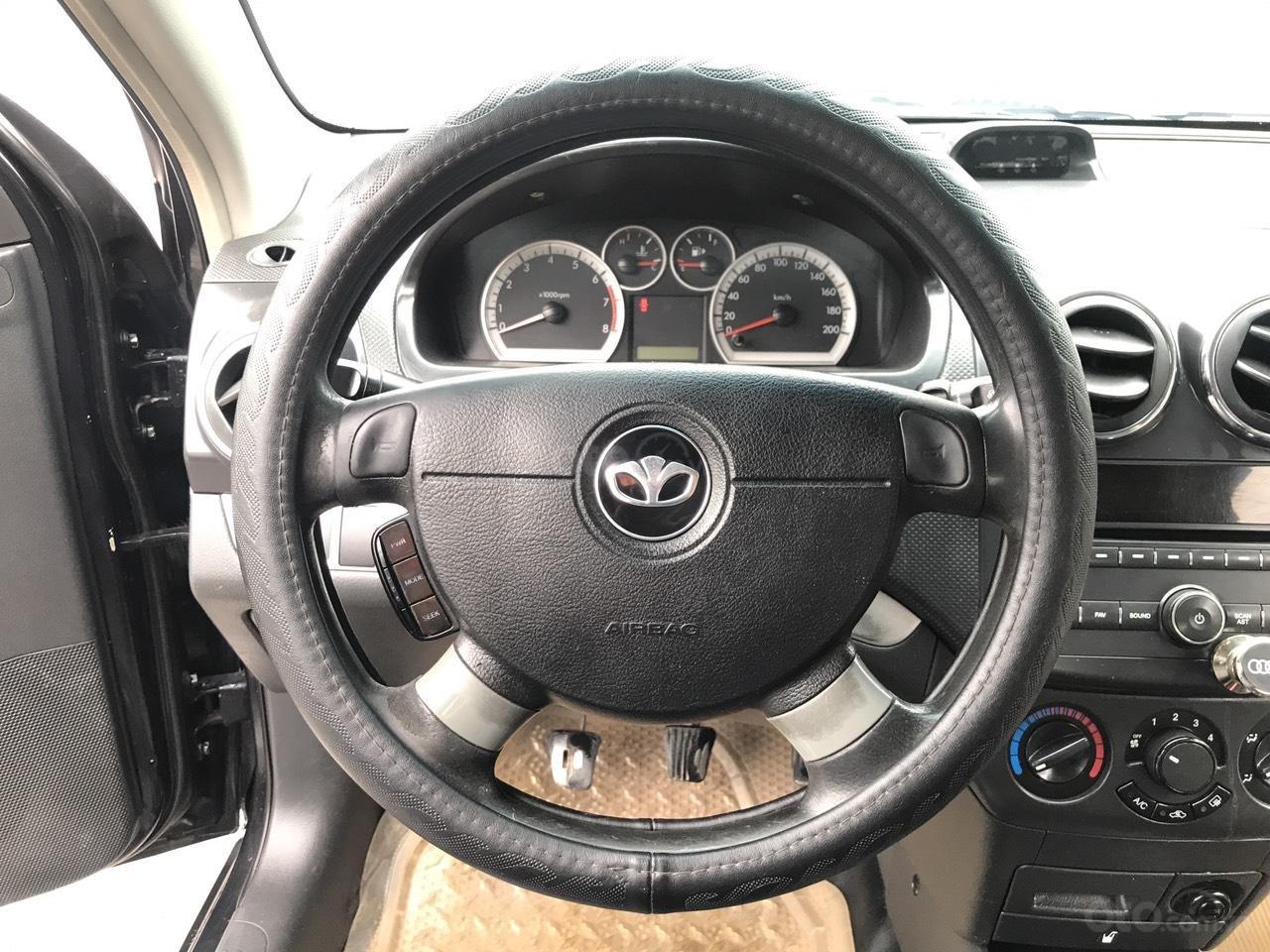 Bán xe Daewoo Gentra SX 1.2MT đời 2010, màu đen. 1 chủ công an huyện, xe nhập  (6)