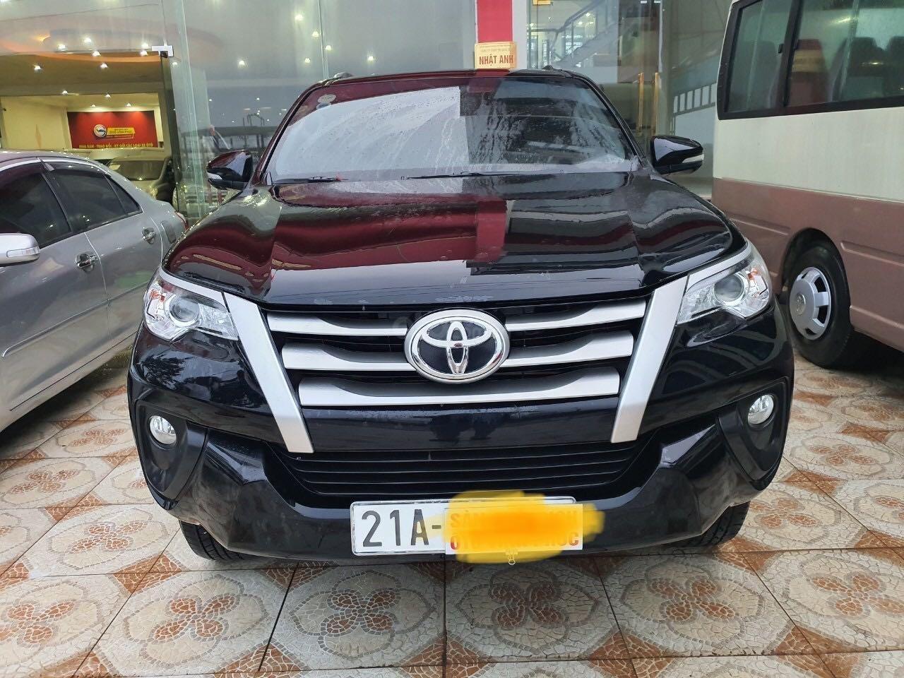 Cần bán gấp Toyota Fortuner 2.5 năm sản xuất 2017, màu đen, xe nhập số sàn, 860tr (1)