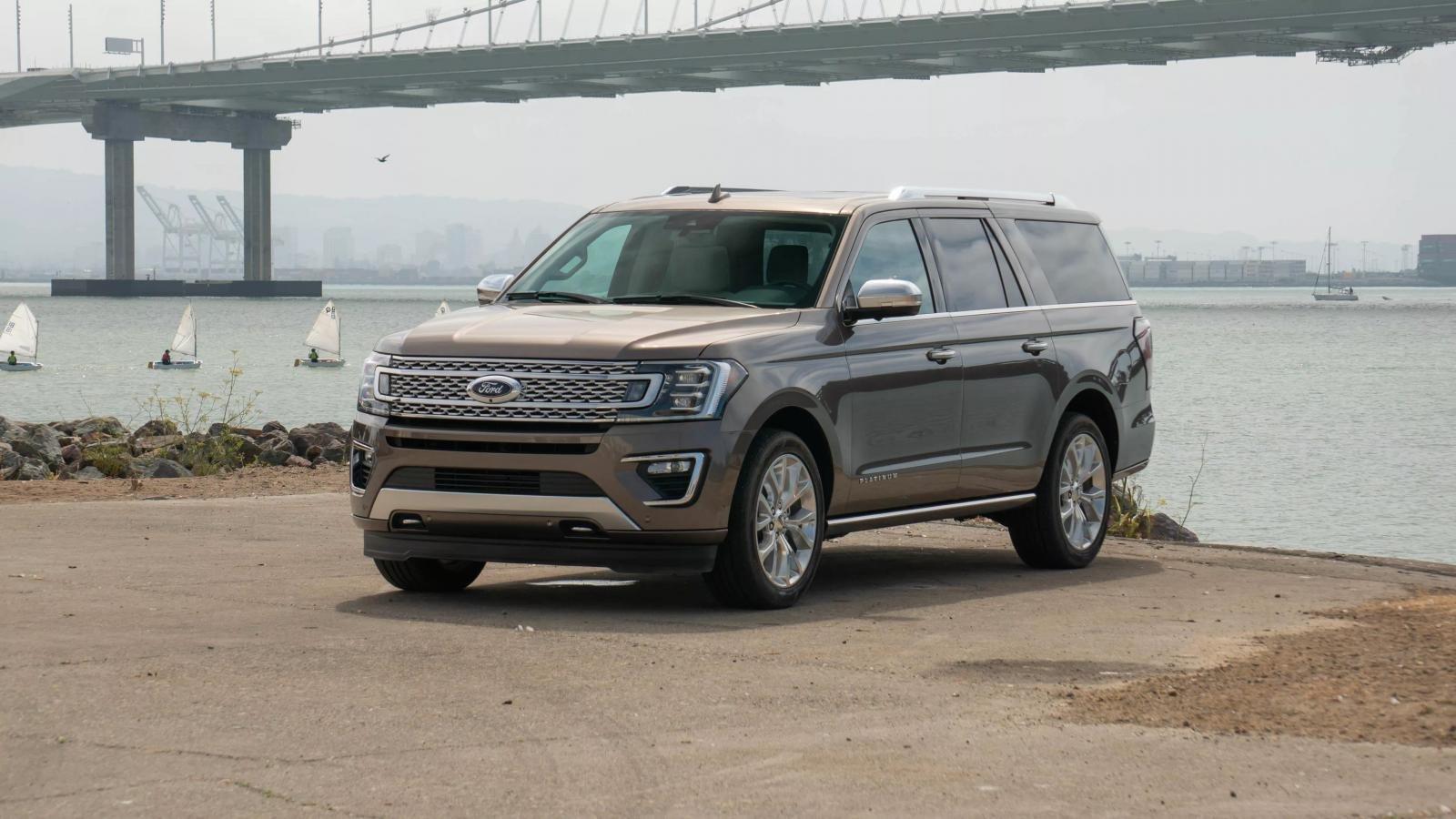 Top 10 mẫu SUV hao xăng nhất năm 2019: Ford Expedition có mặt