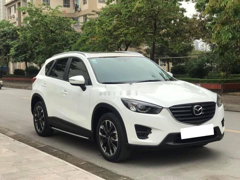 Cần bán lại xe Mazda CX 5 sản xuất 2016, màu trắng còn mới, bản 2.5 full (2)