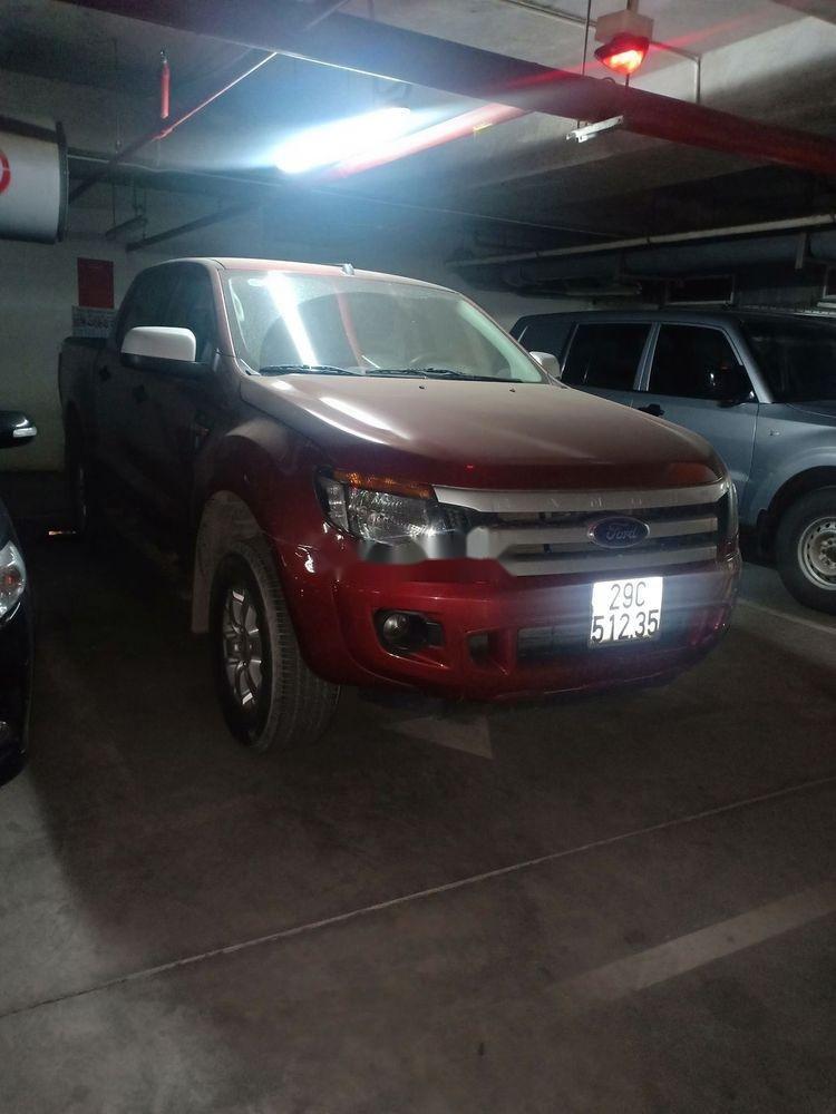 Cần bán xe cũ Ford Ranger đời 2015, màu đỏ (1)