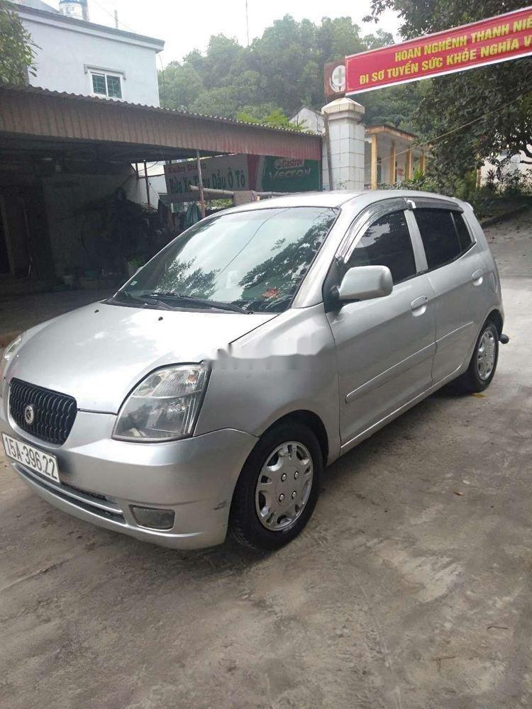 Bán ô tô Kia Morning sản xuất năm 2007, màu bạc, nhập khẩu nguyên chiếc chính hãng (2)