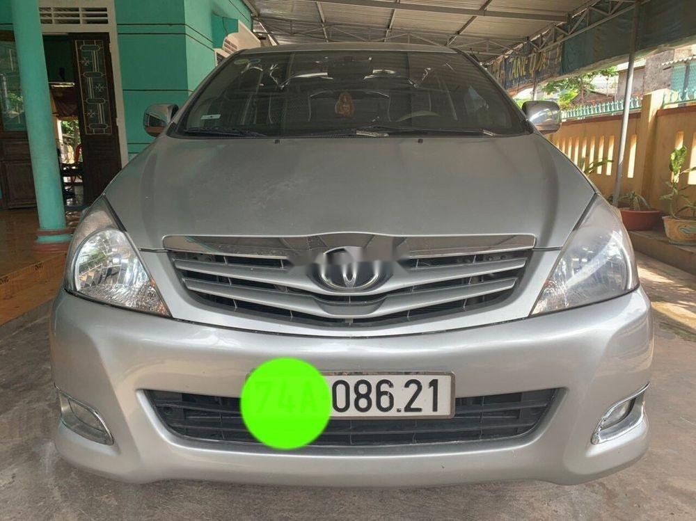 Bán Toyota Innova năm 2011, màu bạc, giá chỉ 390 triệu (1)