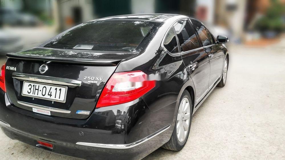 Bán xe Nissan Teana 2.5XV V6 năm 2010, màu đen, giá 515Tr (8)