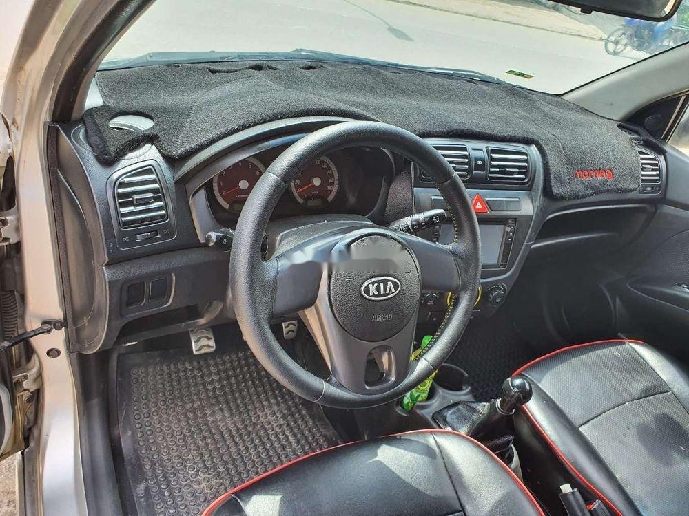 Bán Kia Morning năm 2012, màu bạc chính chủ, giá tốt, xe nguyên bản (8)