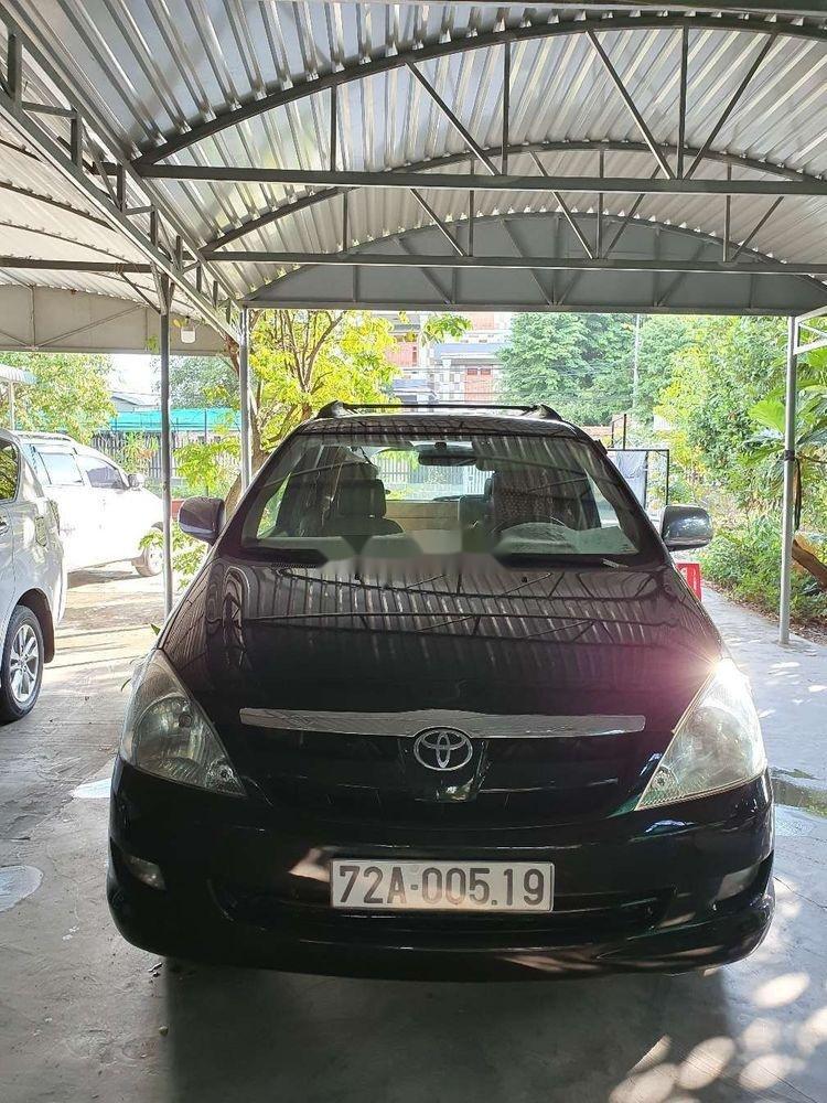 Bán xe cũ Toyota Innova sản xuất 2006, màu đen, 299tr (1)