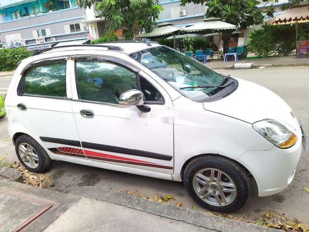 Bán Chevrolet Spark năm sản xuất 2008, màu trắng, giá cạnh tranh (5)