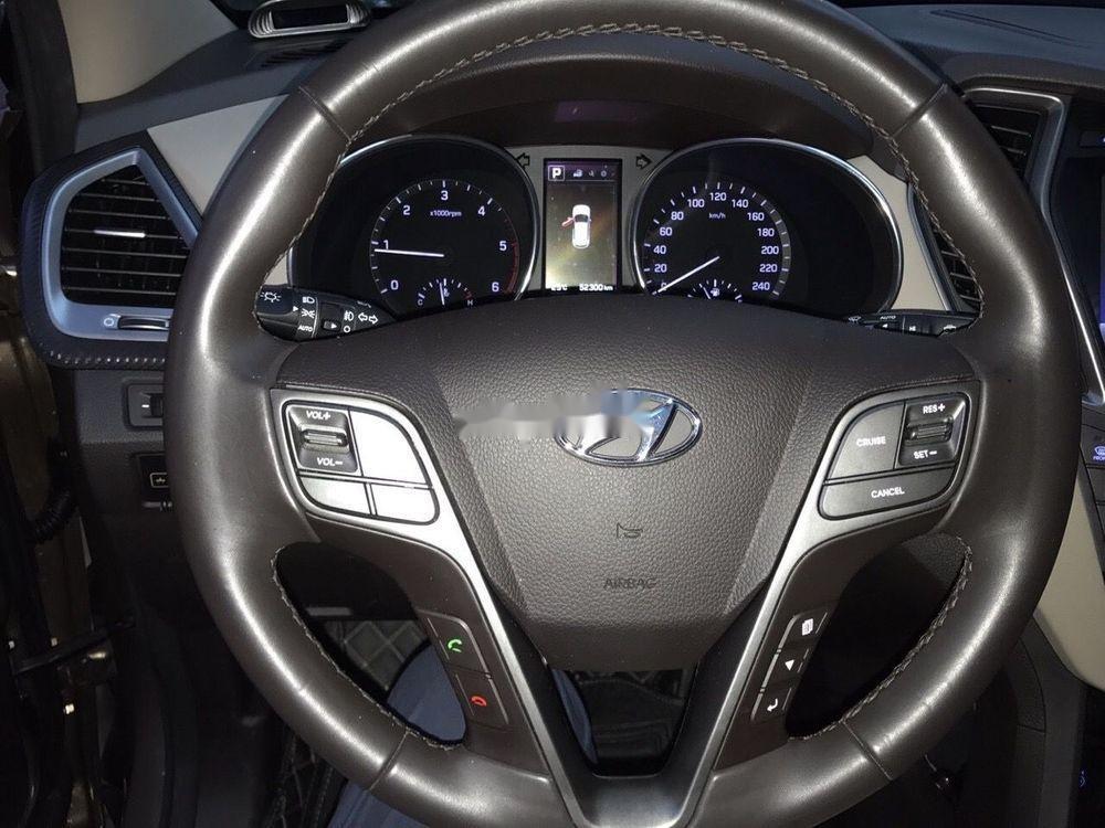 Bán Hyundai Santa Fe năm 2016, màu nâu xe nguyên bản (7)